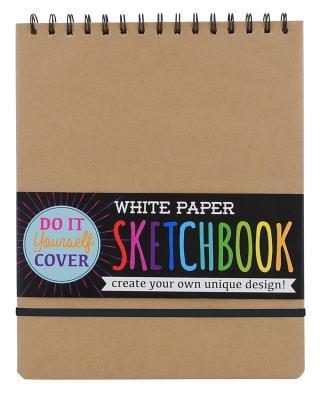 DIY Sketchbk - Large - White