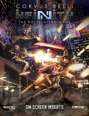 Infinity: GM Screen (Infinity RPG Supp.)