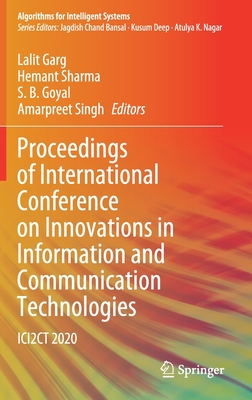 Proceedings of International Conference on Innovations in Information and Communication Technologies: Ici2ct 2020