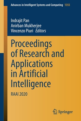 Proceedings of Research and Applications in Artificial Intelligence: Raai 2020