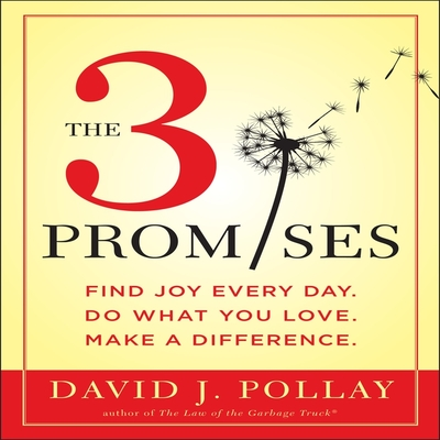 The 3 Promises: Find Joy Every Day. Do What You Love. Make a Difference.