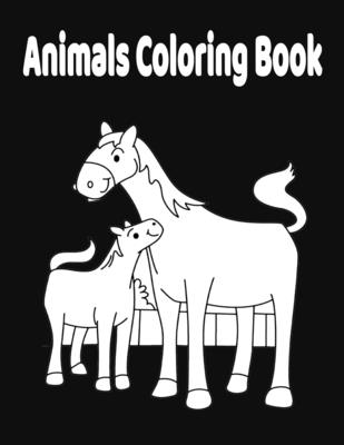 Animals Coloring Book: For kids