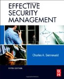 Effective Security Management, Fifth Edition