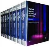 The New Palgrave Dictionary of Economics (8 Volume Set)