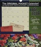 Garden Birds Note Nook 24-Pocket 2016 Calendar