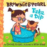 Brownie & Pearl Take a Dip