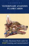 Saunders Veterinary Anatomy Flash Cards, 1e