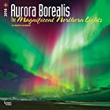 Aurora Borealis: The Magnificent Nothern Lights 2018 12 x 12 Inch Monthly Square Wall Calendar with Foil Stamped Cover, USA Alaska Northern Lights