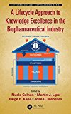A Lifecycle Approach to Knowledge Excellence in the Biopharmaceutical Industry (Biotechnology and Bioprocessing)