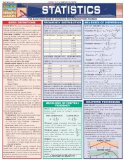Statistics Laminate Reference Chart: Parameters, Variables, Intervals, Proportions (Quickstudy: Academic )