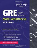 GRE  Math Workbook (Kaplan Test Prep) Ninth Edition